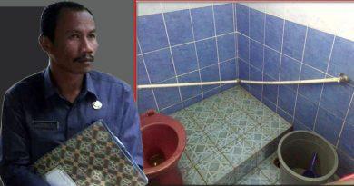 Toilet DPRD Bengkulu Utara